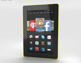Amazon Fire HD 7 Citron 3D model