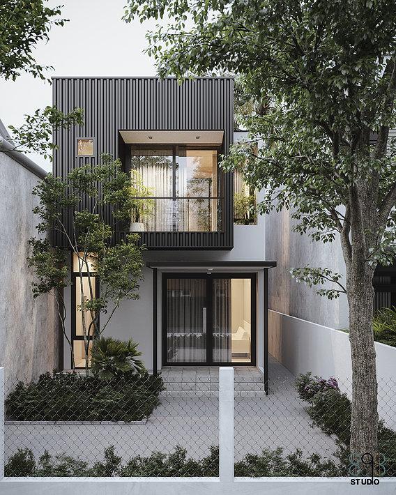 T house |CGI Design: Duy Huynh 893.studio