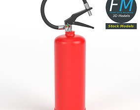 Fire Extinguisher 3D model PBR