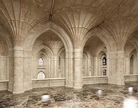3D Classical Historic Interior 322