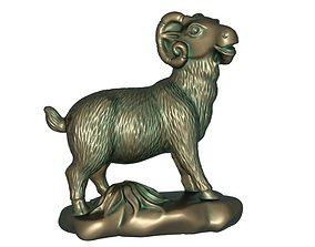 3D print model Zodiac Sheep