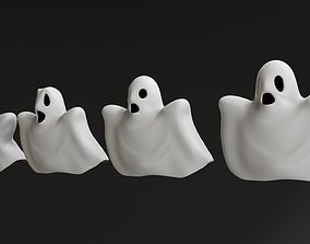 fantasy Cartoon Ghosts 3D