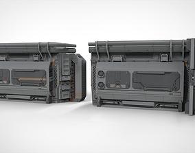 3D Sci Fi Modular Environment 2