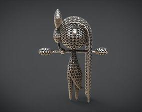 3D print model Aria Forme Meloetta Voronoi