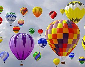 Hot Air Balloon model 3D