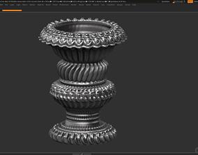 3D model VR / AR ready classic vase 3d print model 02