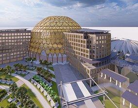Expo 2020 Dubai 3d