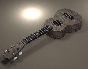 models 3D model Guitar
