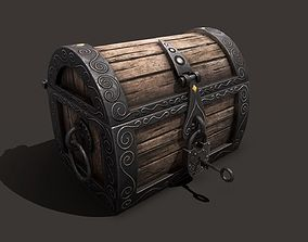 magic chest 3D asset