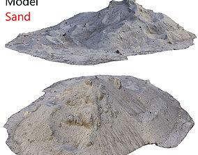 3D asset Ultra realistic Sand Scan