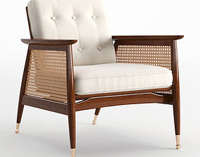 3D asset Nadia Caned Accent Chair