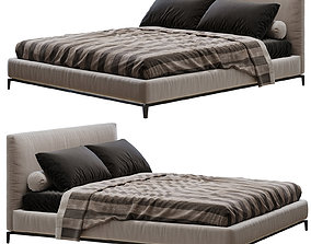 Minotti Andersen Bed 3D furniture