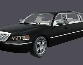 3D Luxury Limousine Car - Full interior Design