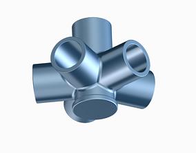 Innovative Pipe Fitting Type B 3D print model