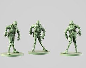 3D printable model ship s boy zombie