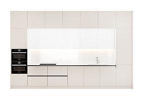 Contemporary Kitchen SCAVOLINI 3D model