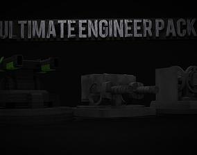 Ultimate Engineer Turret Pack 3D model