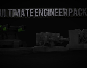 Ultimate Engineer Turret Pack 3D model