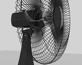 Simple fan wind 3D model