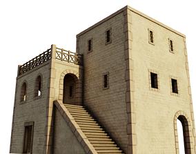 3D asset Modest Apartment