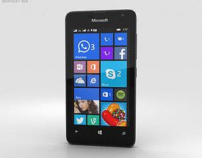 3D model Microsoft Lumia 430 Black