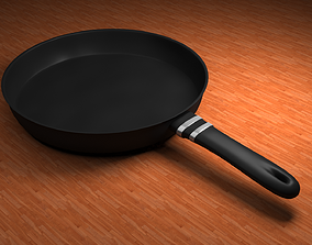 frying-pan 3D model