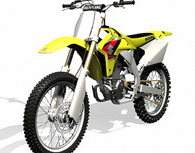 3D model Suzuki RM-Z450 Dirt Bike