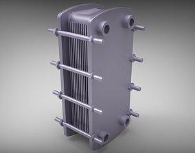 heat exchanger 3D