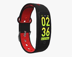 3D model Smart watch 01 closed