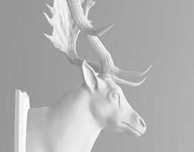 3D print model FallowDeerHead buck