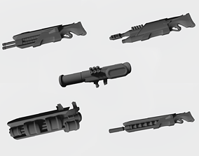 3D printable model Firearms from future