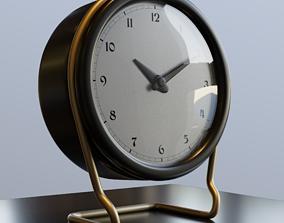 Clock 3D model minimalism