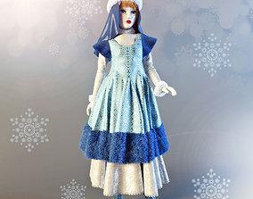 3D Doll Snow-Maiden