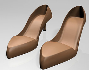 3D Pointed-Toe Stiletto Sandals 01