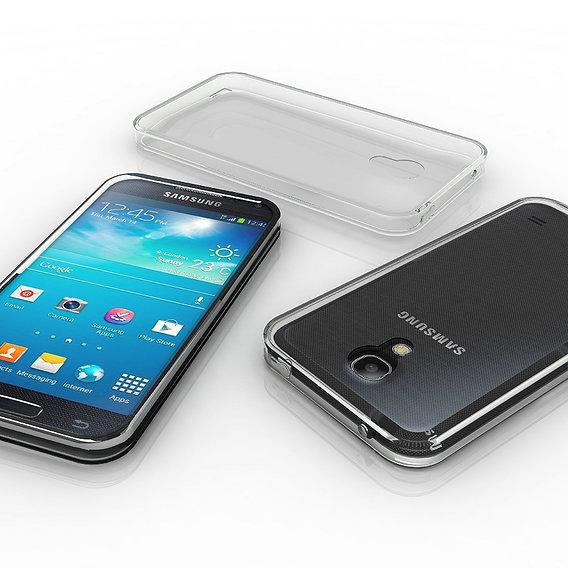 Samsung Galaxy S4, whit case