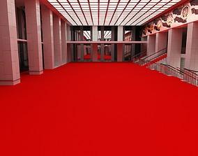 3D State Kremlin Palace Foyer