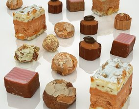 3D asset Chocolate Collection