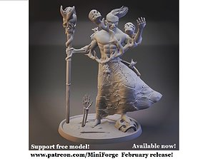 3D print model Laezad the corrupted Necromancer Support