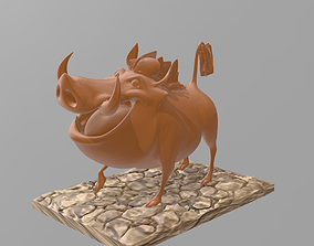 Pumba 3D printable model