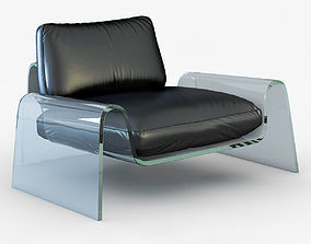 3D model Spider Lounge Chair by Giancarlo Vegni
