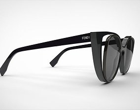 fendi sunglasses 3D model
