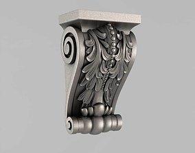 3D print model Corbels art