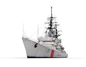 Coast Guard 57 3D asset
