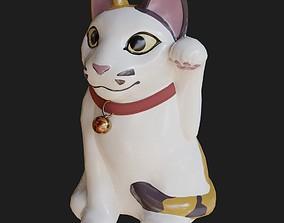 3D model Maneki Neko The Lucky Cat