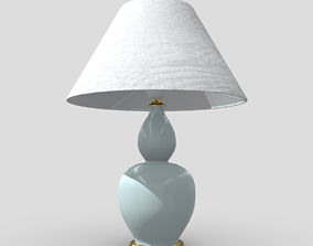 3D model low-poly Table Lamp 5