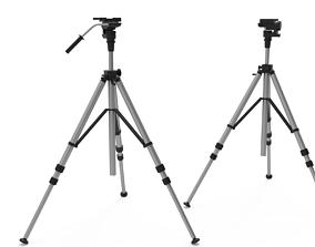3D model telescope Tripod