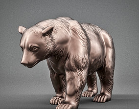 beast 3D print model Brown Bear