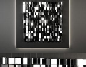3D model wall decor 01