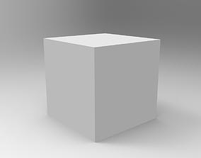 3D printable model cube 50x50x50