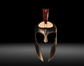 3D model Achilles helmet